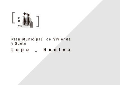 Plan Municipal Vivienda y Suelo de Lepe