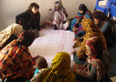 Talleres para mejora de hábitat a mujeres
