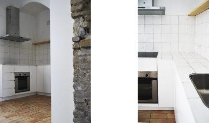 Cocina - Reforma de vivienda en Sevilla