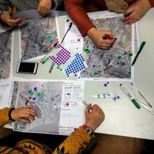 mujeres haciendo barrio sesion 2